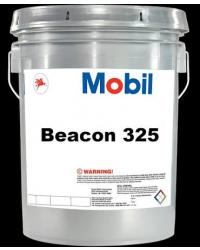 MOBIL BEACON 325 100% SYNTHETIC AVIATION, INSTRUMENT, AND MILITARY GREASE, 5 Gallon Pail