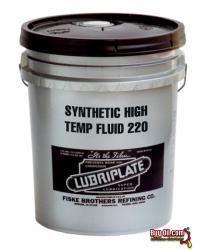 L0780-060 LUBRIPLATE SYNTHETIC HIGH TEMP OVEN FLUID No. 220 - 5 Gallon Pail