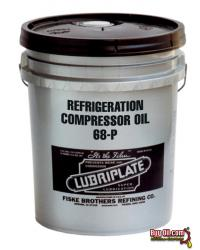 L0843-060 LUBRIPLATE SYNTHETIC BLEND REFRIGERATION COMP OIL 68-P, (FRICK OIL #3 SPECIFICATION) - 5 Gallon Pail