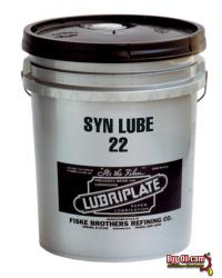 L0968-060 LUBRIPLATE SYN LUBE 32 100% SYNTHETIC, ZF, PAO/ESTER SEVERE LOW TEMP ( -70F ), EXTREME LIFE OR SEALED FOR LIFE HYDRAULIC FLUID - 5 Gallon Pail